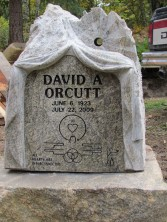David Orcutt's memorial, by David Ducharme