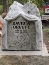 David Orcutt's memorial, by David Ducharme
