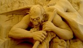 Dante's Inferno, sculpture by David Ducharme, for Sultans of Sand, Jesolo Italy 2009