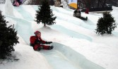 -Jack Frost penguin slide, Ephemeral Arts Team, Charlottetown 2009