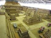 inside Tottori Sand Museum japan
